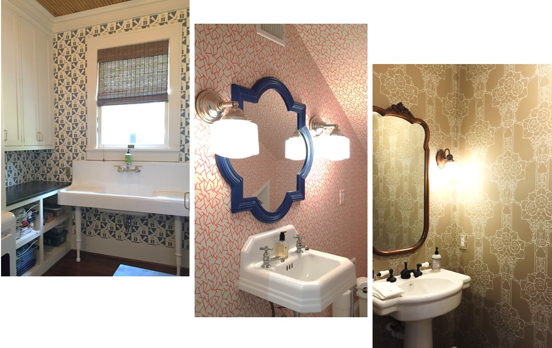 These Wallpapers Gave These Historic Homes Such A Fun And Modern Look These Wallpapers Sure Made An Impact In These Rooms