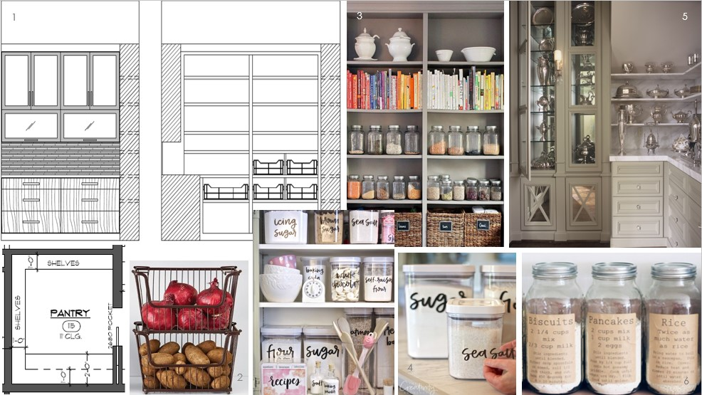 This Modern Pantry Designed By Tracy Rasor And Chelsea Hargrave Jim Johnson Group Is With Opaque Glass Uppers Drawers Below To Hide Away Some