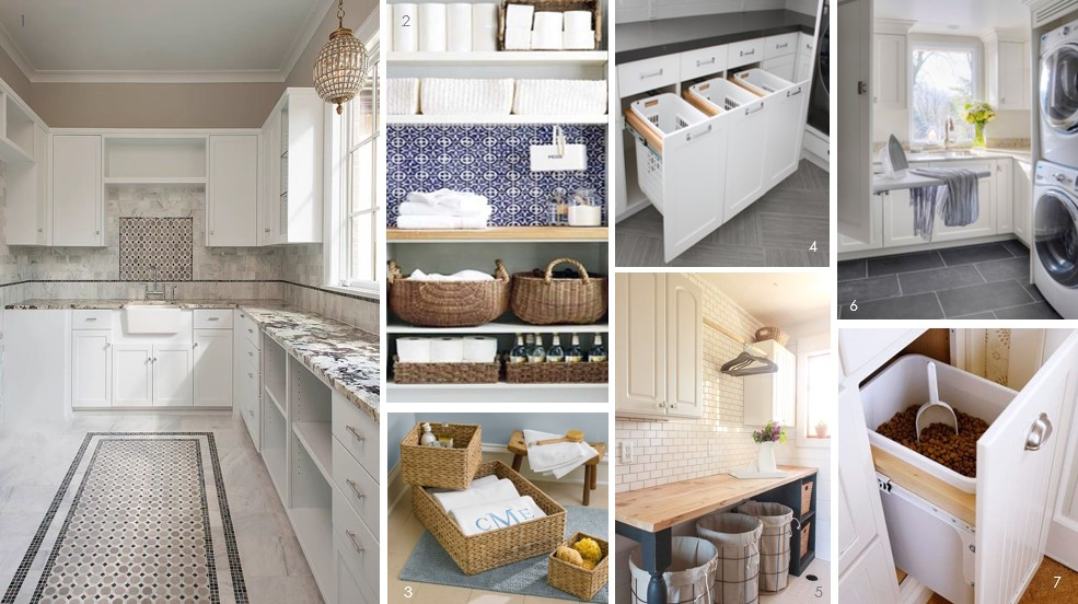 rebecca kennedy milan design build designed this prodigious laundry room with ample counter space and cabinet storage for her client